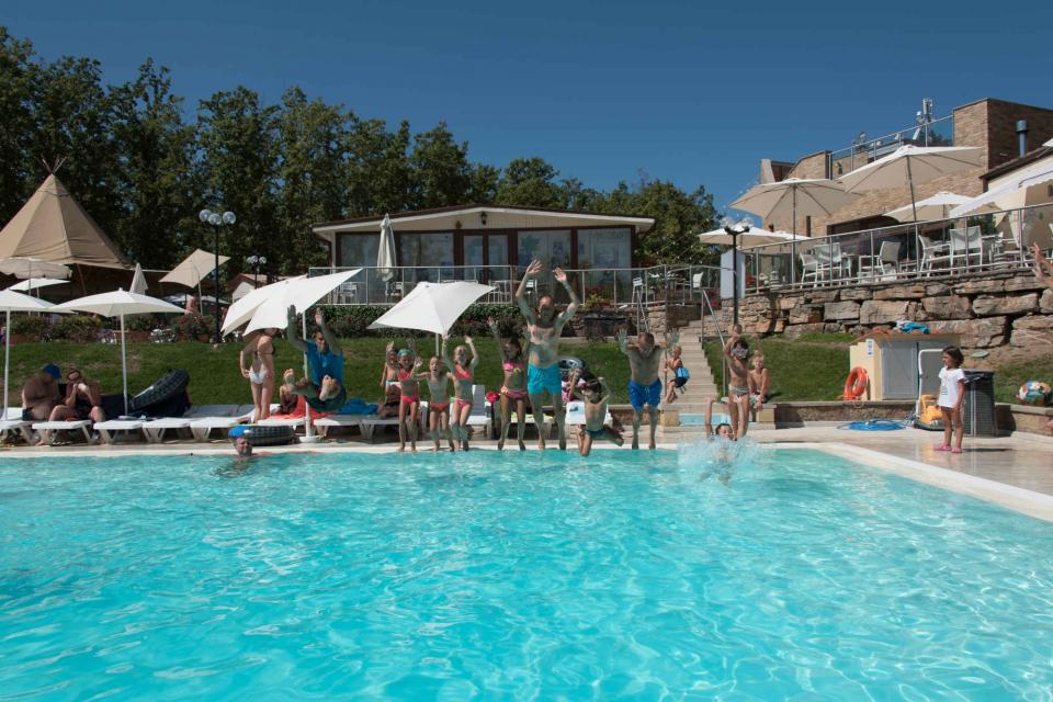 Orlando in Chianti - Sport in swimmingpool