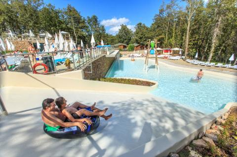 Pools for adults and kids with play area
