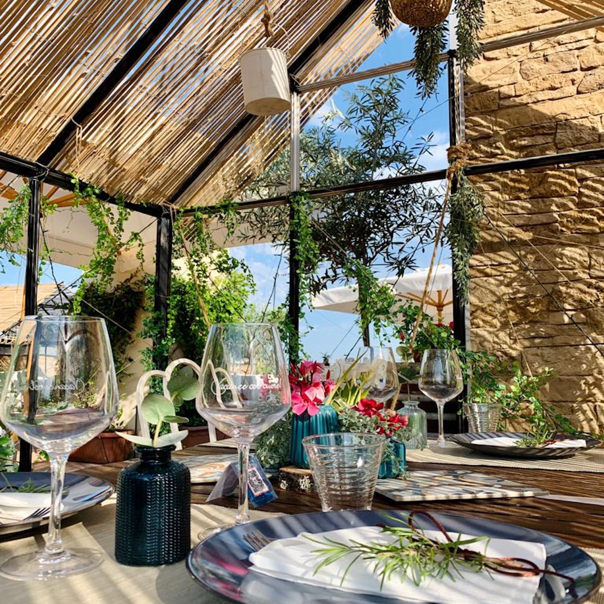 Roof Garden | The new terrance on the restaurant roof looks like a garden