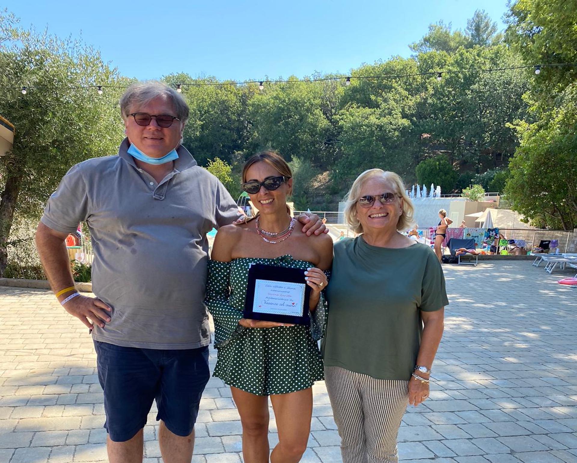 Serena Garitta ambasciatrice di Vacanze col Cuore!